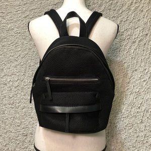 Handbags - Medium Mesh Black Back Pack